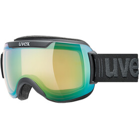 UVEX Downhill 2000 V Maschera, black mat/variomatic green